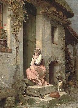Emile-Pierre Metzmacher - La cagale, 1886