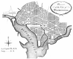 736px L%27Enfant plan A Brief History of Urbanism in North America: 1700s