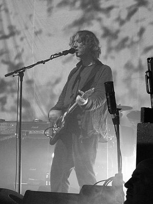 Kevin Shields of My Bloody Valentine performin...