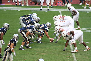 The Owls in a game against the Texas Longhorns