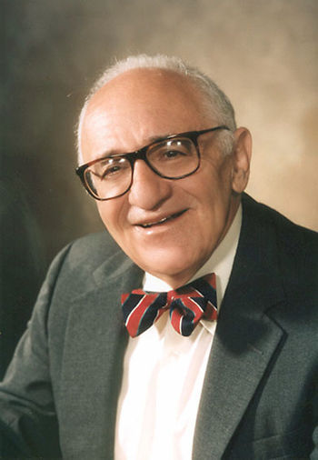 English: Murray Rothbard in the 90's