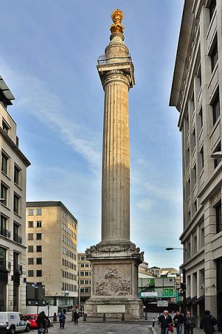 File:The Monument to the Great Fire of London.JPG