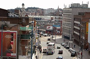This is Digbeth High Street of Digbeth as view...