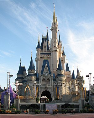 Cinderella Castle in the Magic Kingdom at Walt...