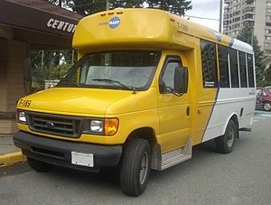 Ford E-Series photographed in New Westminster,...
