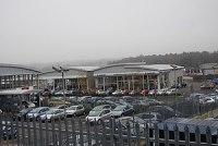 English: Suzuki car dealers, North Farm estate...