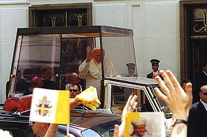 Pope John Paul II's visit to the Polish Parlia...