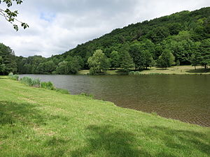 Natur-Badesee im Klingbachtal