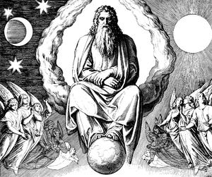 "English: Woodcut for ""Die Bibel in Bilder..."