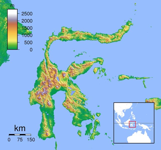 Berkas:Sulawesi Locator Topography.png