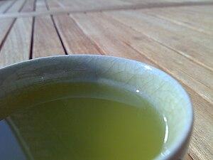 a cup of sencha