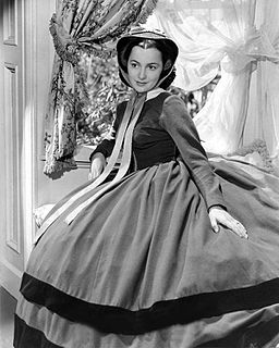 Olivia de Havilland Publicity Photo for Gone with the Wind 1939