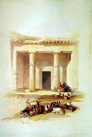 English: Entrance of the Tomb Beni Hassan/Egypt