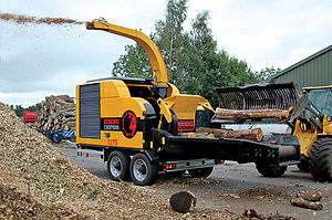 English: Europe Chippers Woodchipper