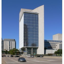 Small Crop Of Central Bank Houston