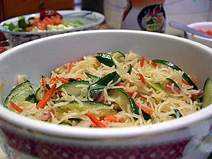 Cooked Rice vermicelli