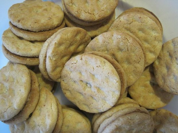 Girl Scout Do-si-dos cookies.
