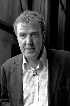 Picture of Jeremy Clarkson, on the set of Top Gear