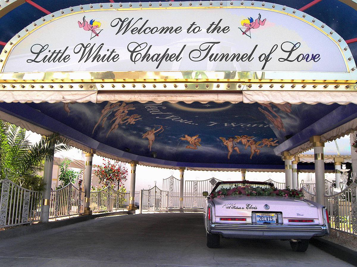 A Little White Wedding Chapel vegas wedding chapels