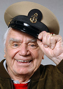 Academy Award winner and actor Ernest Borgnine...