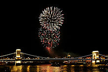 Bastille Day   Wikipedia Bastille Day fireworks in Budapest  Hungary