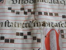 Ink corrosion:iron gall ink has oxidized the c...