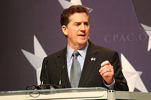English: Senator speaking at CPAC in .
