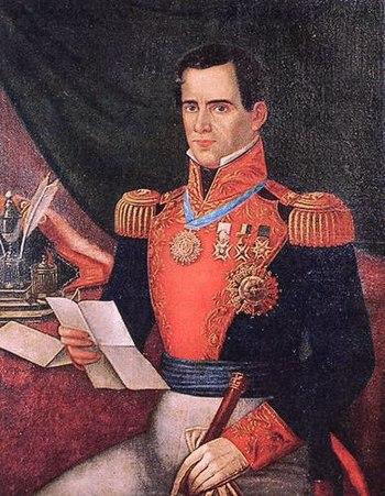 English: Antonio López de Santa Anna