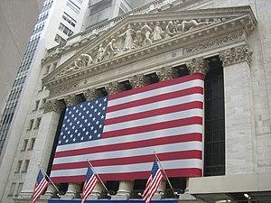 English: Wall Street, Manhattan, New York, USA...