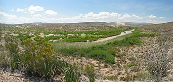 Rio Grande in Big Bend National Park, Texas. T...