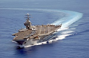 USS Carl Vinson on patrol in the Pacific 2003-...