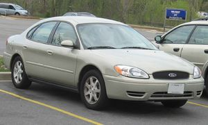 2004-2006 Ford Taurus photographed in USA. Cat...