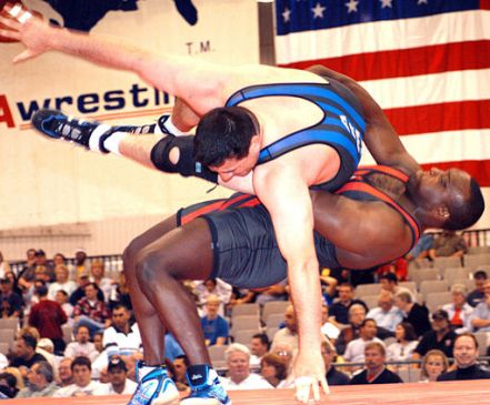 Strength and Conditioning wrestling throw