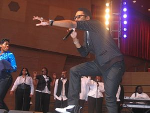 English: Deitrick Haddon