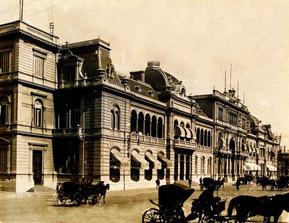 Casa Rosada a fines del siglo XIX