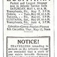 The Lusitania Mystery