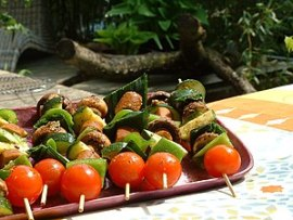 Shashlik of the vegan kind