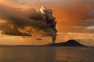 Tuvurvur volcano - part of Rabaul Caldera –– P...