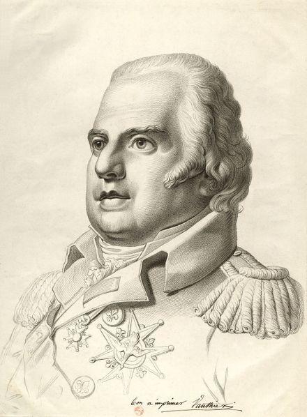 King Louis XVIII, c1815.  source: Wikipedia
