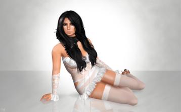 Female Second Life avatar