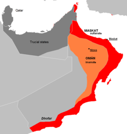 Sultanate of Muscat   Wikipedia The Sultanate of Muscat was a maritime empire during the 18th Century   which in 1820