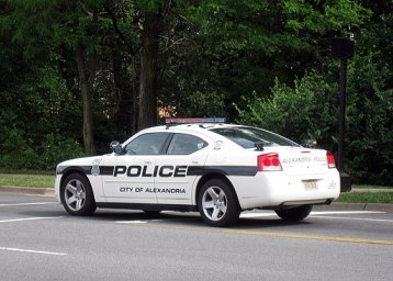Alexandria VA Dodge Charger Police Car ANPR