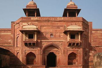 English: Fatehpur Sikri, India Español: Fatehp...