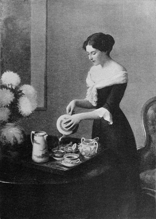 William Worcester Churchill - Verser le thé