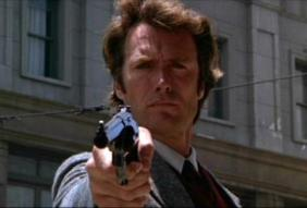 DIRTY HARRY Copyright Warner Bros.  Used under Fair Use Provisions