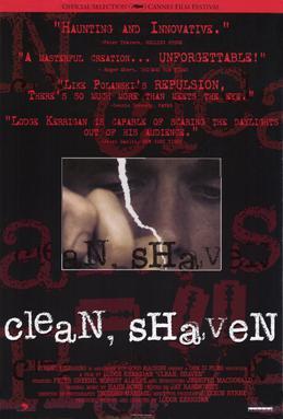 Poster do filme Clean, Shaven