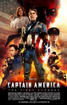 Captain America  The First Avenger   Wikipedia Captain America The First Avenger poster jpg