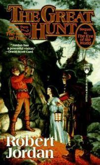 A capa da versão original do livro A Grande Caçada