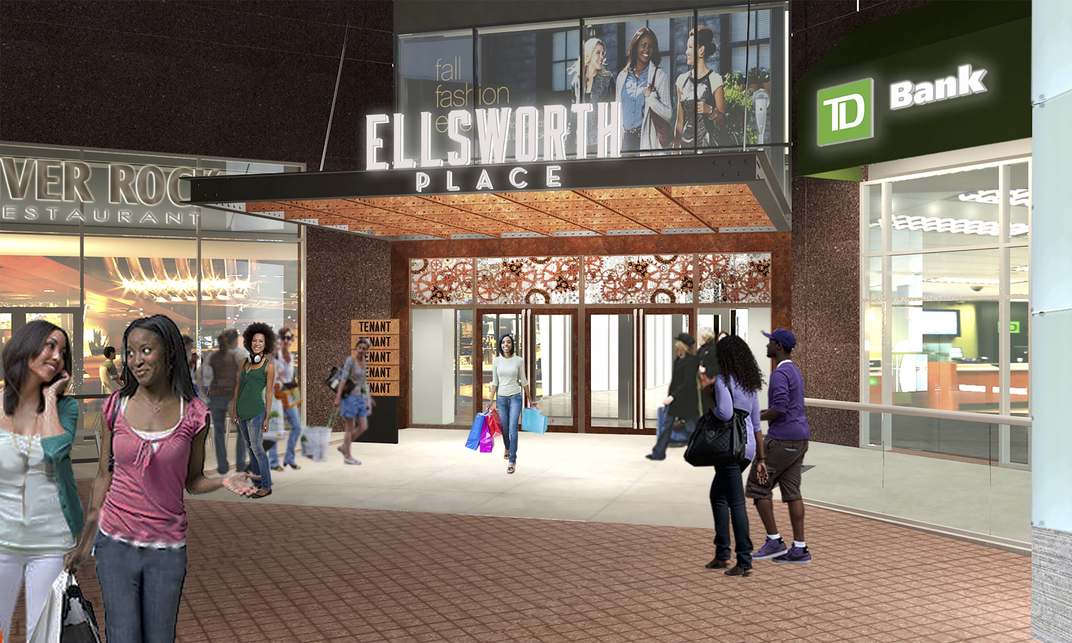 Pretty Exterior Rendering From Fenton Street Colesville Showing Itrenamed As Ellsworth Place Wikipedia Regal Silver Spring Summer Movies Regal Silver Spring Contact Number nice food Regal Silver Spring
