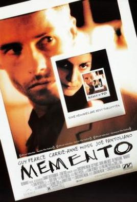 Theatrical release poster of the film 'momento'
